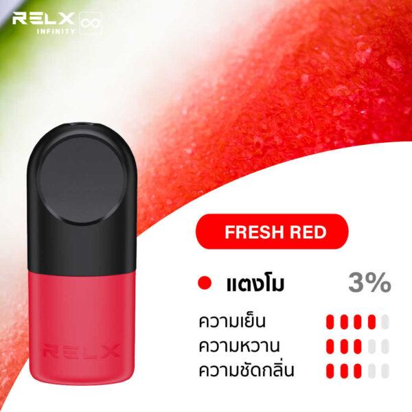 RELX INFINITY SINGLE POD FRESH RED 1