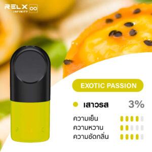 RELX INFINITY SINGLE POD EXOTIC PASSION 1